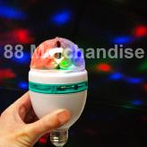 Colorful Rotating Lightbulb